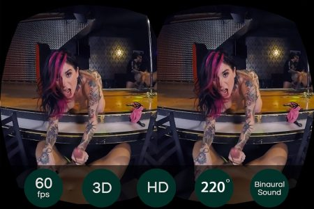 Sex Show with Joanna Angel – VR Movie from HologirlsVR