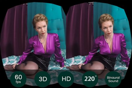 The Mistress T Collection: Turning My Step-Son Straight – VR Movie from HologirlsVR
