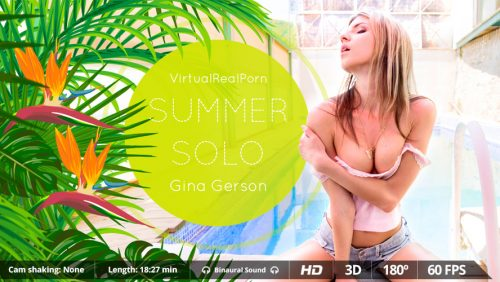 Summer Solo – VR Movie from VirtualRealPorn