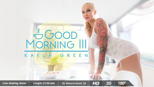 Good Morning III – VR Movie from VirtualRealPorn