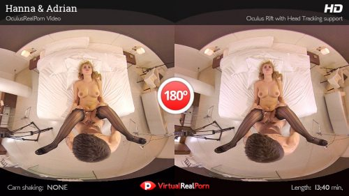 Hanna and Adrian – VR Movie from VirtualRealPorn