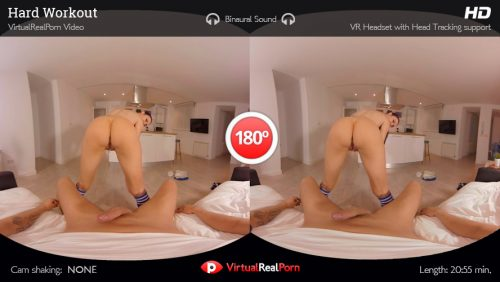 Hard Workout – VR Movie from VirtualRealPorn