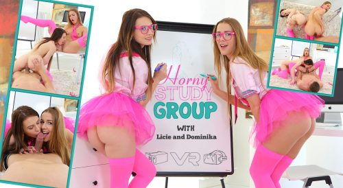 Horny Study Group – VR Movie from TeenMegaWorldVR