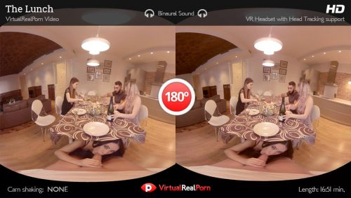 The Lunch – VR Movie from VirtualRealPorn